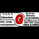 Fahrschule Goßmann -  Smile & Drive in Wildenstein