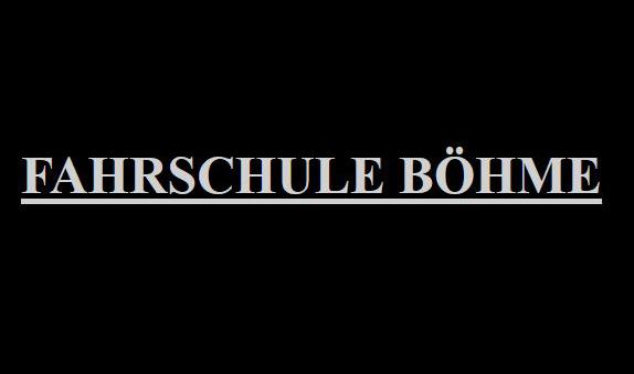 Fahrschule Böhme