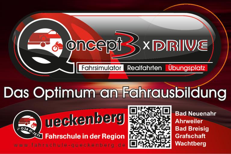 Das Qoncept  3xdrive - Die denkbar effizienteste Führerscheinausbildung